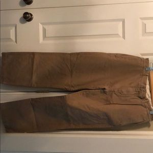 J. Crew Brown Khakis